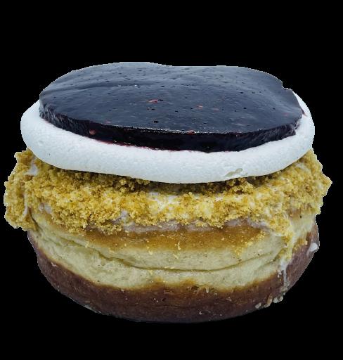Donut Cheesecake vegano